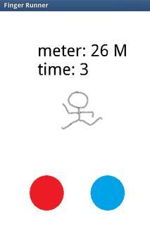 Finger Runner apk screenshot
