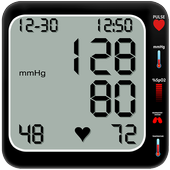 Fingerprint Blood Pressure Simulator icon