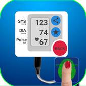 Finger  pressure control prank icon