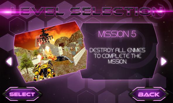 Army Robot  3D screenshot 2