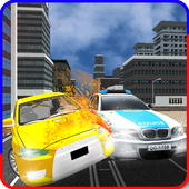 Traffic Police Car Chase icon