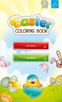 Easter Coloring Book poster