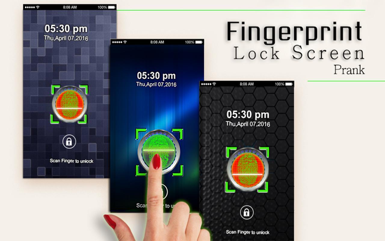 Finger Print Lock Screen Prank For Android Apk Download