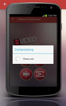 Videos Compressor apk screenshot