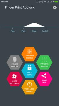 Fingerprint AppLock (Real) poster