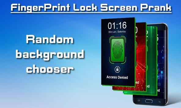 Fingerprint Lock Screen Prank screenshot 3