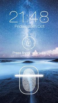 Fingerprint Lock Screen screenshot 1