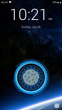 بصمة قفل الشاشة تصوير الشاشة 8