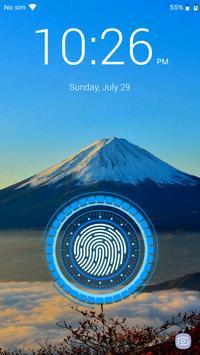 بصمة قفل الشاشة تصوير الشاشة 9