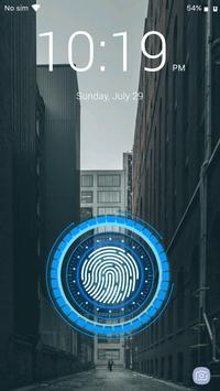 بصمة قفل الشاشة تصوير الشاشة 14