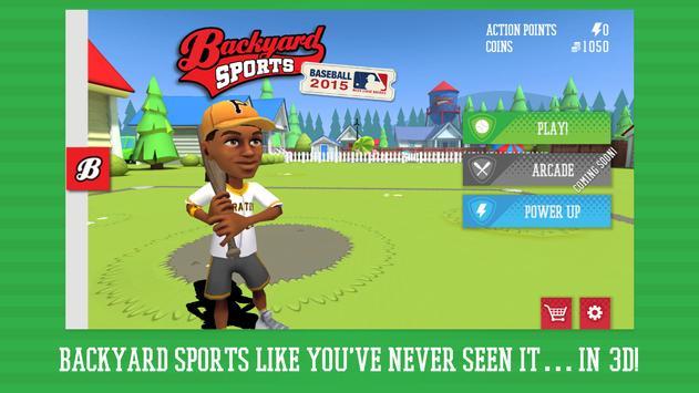 Backyard Sports Baseball 2015 poster