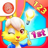 Wonder Bunny Math: 1st Grade icon
