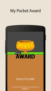Mine Maps Pocket Award poster