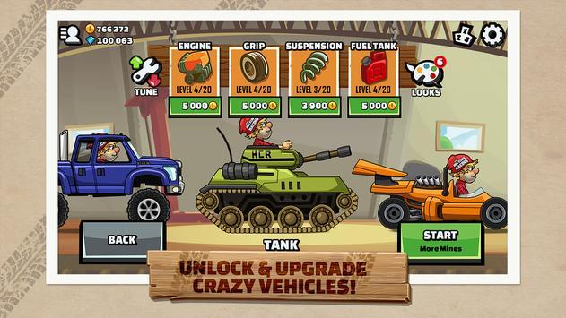 Hill Climb Racing 2 apk screenshot
