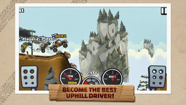 पहाड़ चढ़ने वाली रेसिंग 2 apk स्क्रीनशॉट