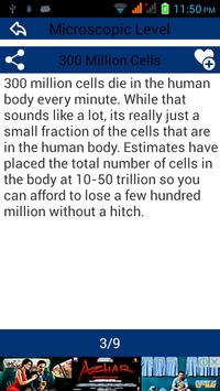 Human Body Amazing Facts apk screenshot