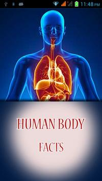 Human Body Amazing Facts poster