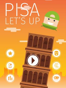 Pisa! Let's UP apk screenshot