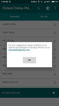 Finland Online FM Radio screenshot 2