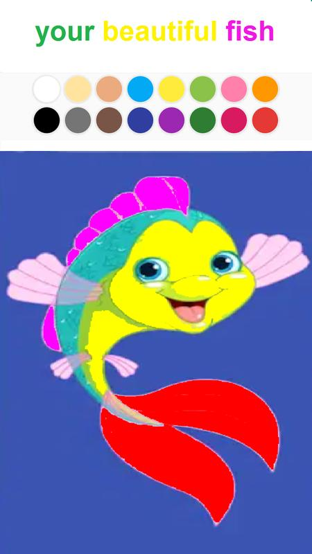 Coloring fish skilled intelligent creative para android for Are fish smart