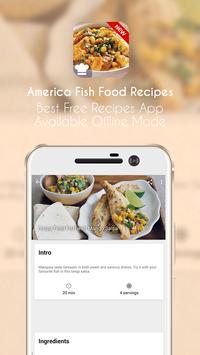 America Fish Food Recipes apk screenshot
