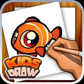Drawing Fish - Easy Tutorial icon