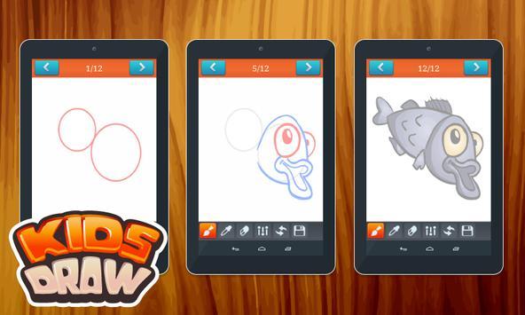 Drawing Fish - Easy Tutorial apk screenshot