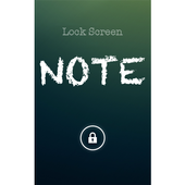Lock Screen Note icon