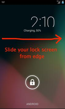 Lock Screen Note poster