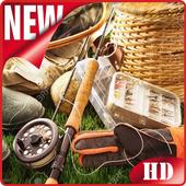 fishing gear icon