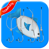 23 Useful Fishing Knots and Rigs Tying Guide icon