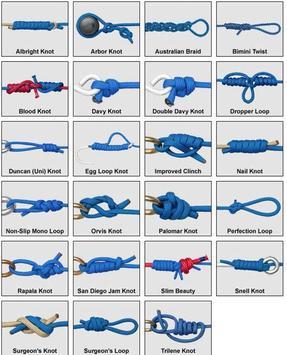 23 Useful Fishing Knots and Rigs Tying Guide screenshot 1