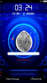 Fingerprint Lock Screen-Prank apk screenshot