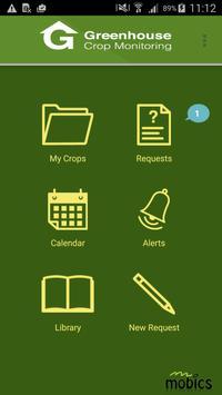 FIspace Crop Monitoring App poster