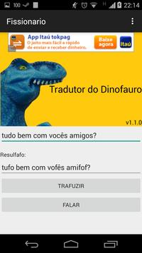 Tradutor do Dinofauro screenshot 1