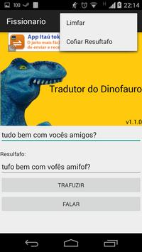 Tradutor do Dinofauro screenshot 2