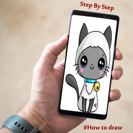 Como Desenhar Gato Fofo Para Android Apk Baixar