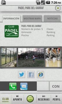 Pádel Parc del Garraf poster