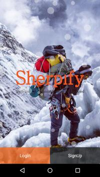 Sherpify poster