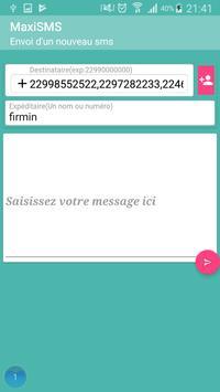 MaxiSms screenshot 2