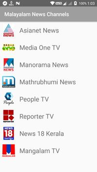 Malayalam News Channels poster