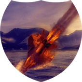 Aircraft on fire Live WP icon
