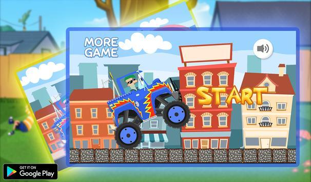 Fred Super Car screenshot 1