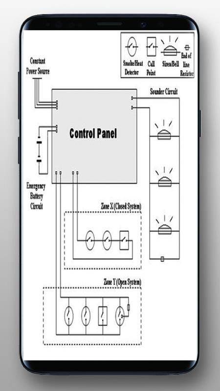 fire alarm wiring diagram for android apk download. Black Bedroom Furniture Sets. Home Design Ideas