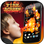 Fire Screen Prank icon