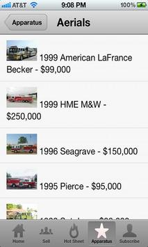 Used Fire Trucks by Firetec® apk screenshot
