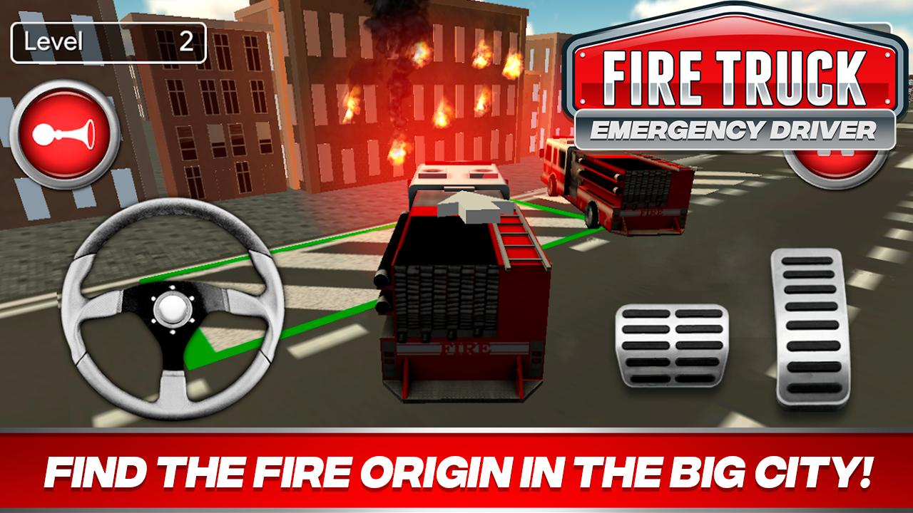 Fire Truck Driver Emergency 2018 for Android - APK Download