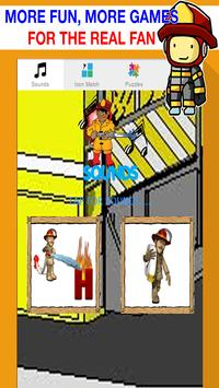 fire truck games free for kids poster