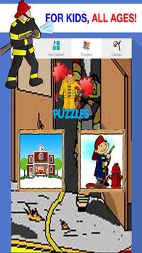 fire truck games free for kids screenshot 11