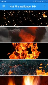 Hot Fire Wallpaper HD apk screenshot